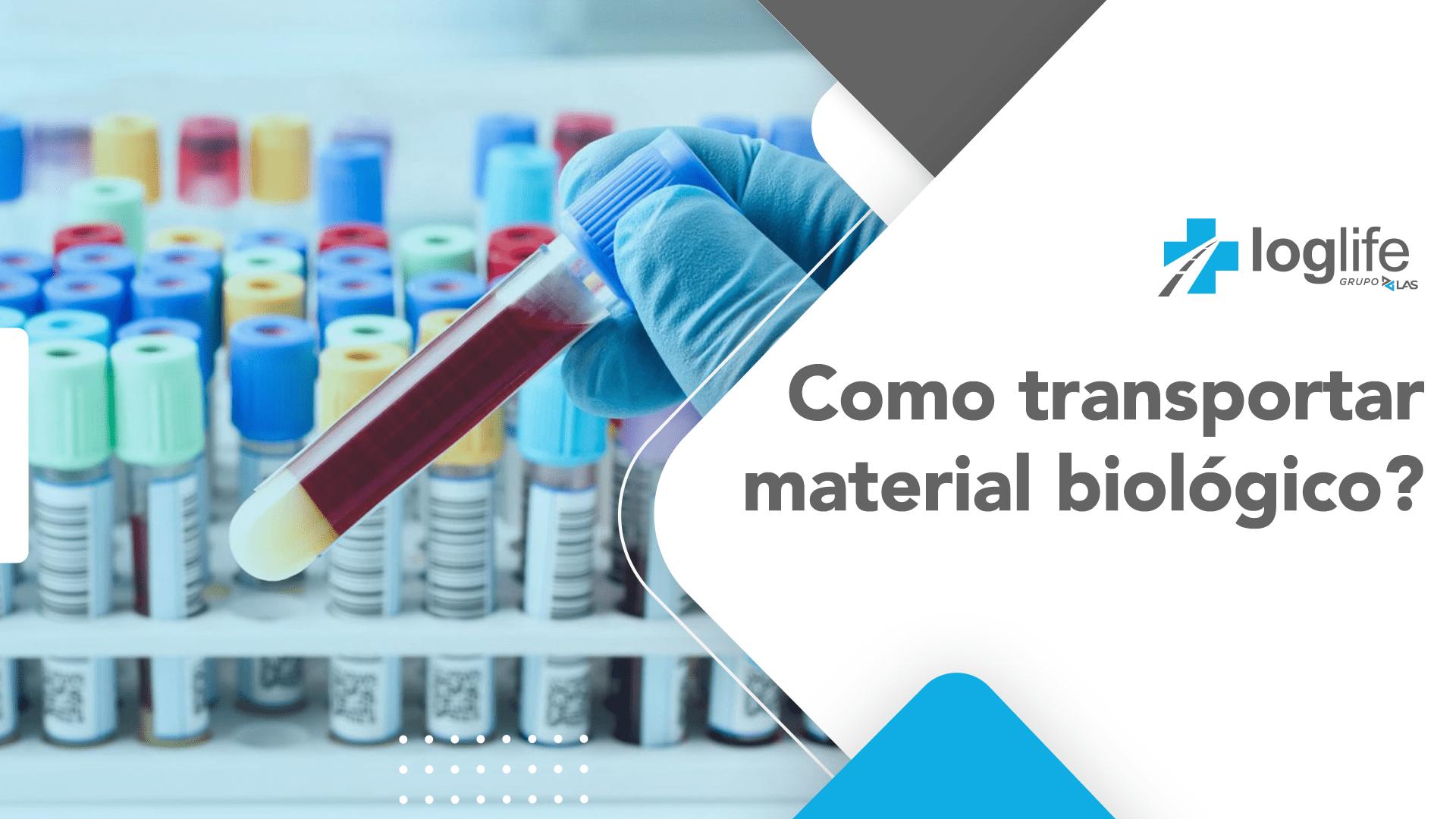 Como transportar material biológico
