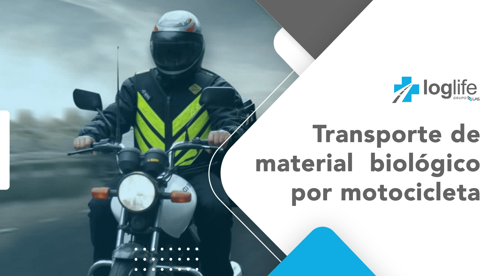 Transporte de Material Biológico por Motocicleta